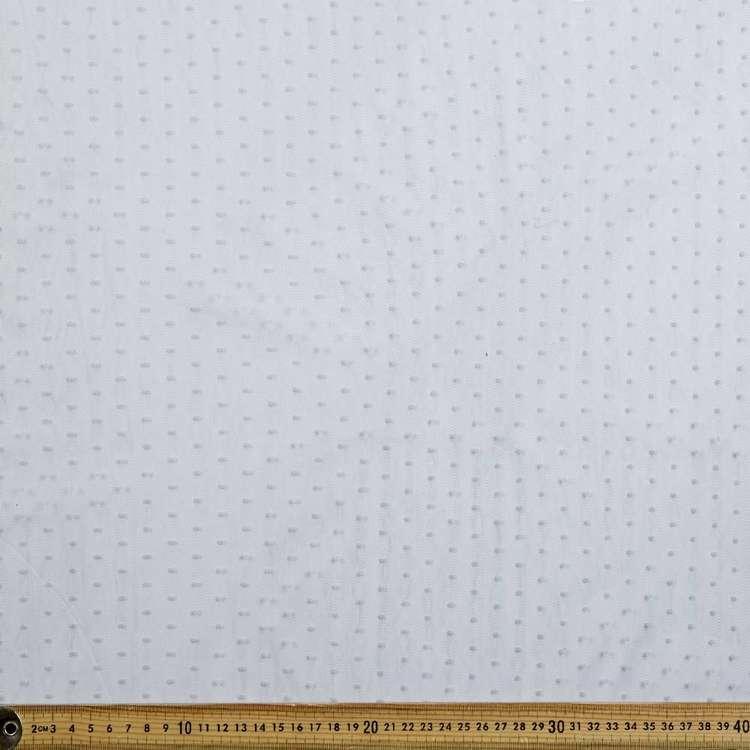 Spot Flocked Tulle 145 cm Nylon Fabric