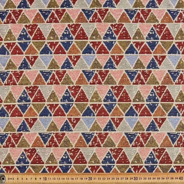 Blocked Jacquard Printed 145 cm Poly Cotton Fabric