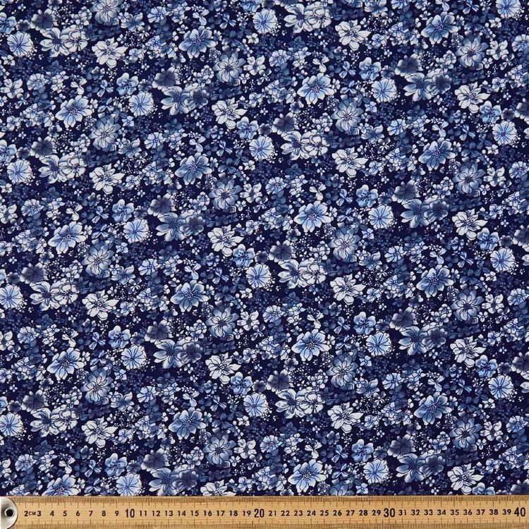 Bluey Printed 135 cm Rayon Fabric