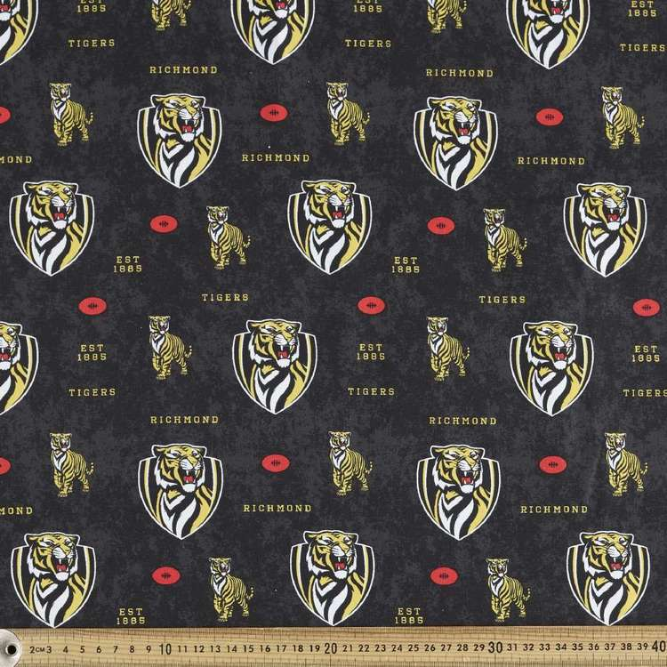 AFL Richmond Logo Homespun Fabric