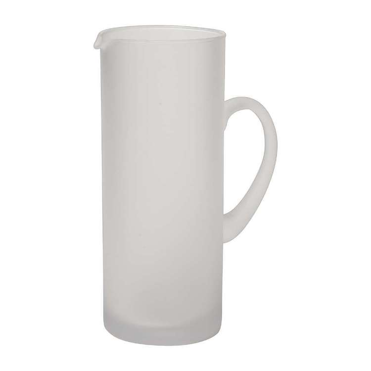 Dine By Ladelle Ziggy Frosted Jug