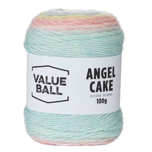 Value Ball Angel Cake Acrylic Yarn