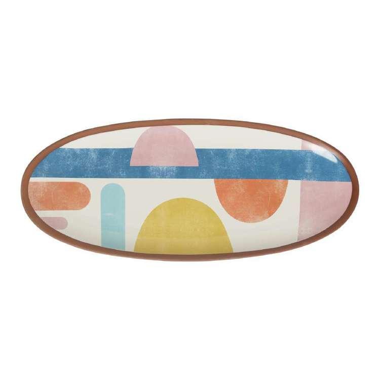 Dine By Ladelle Splice Oblong Platter