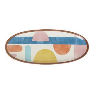 Dine By Ladelle Splice Oblong Platter