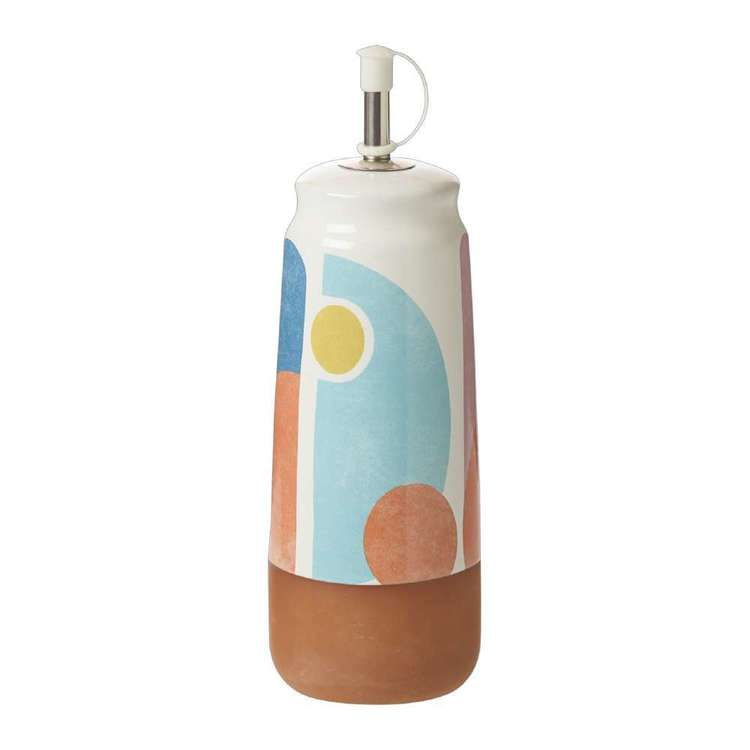 Dine By Ladelle Splice Oil And Vinegar Bottle Multicoloured