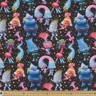 Trolls 2 Tribalicious Cotton Fabric