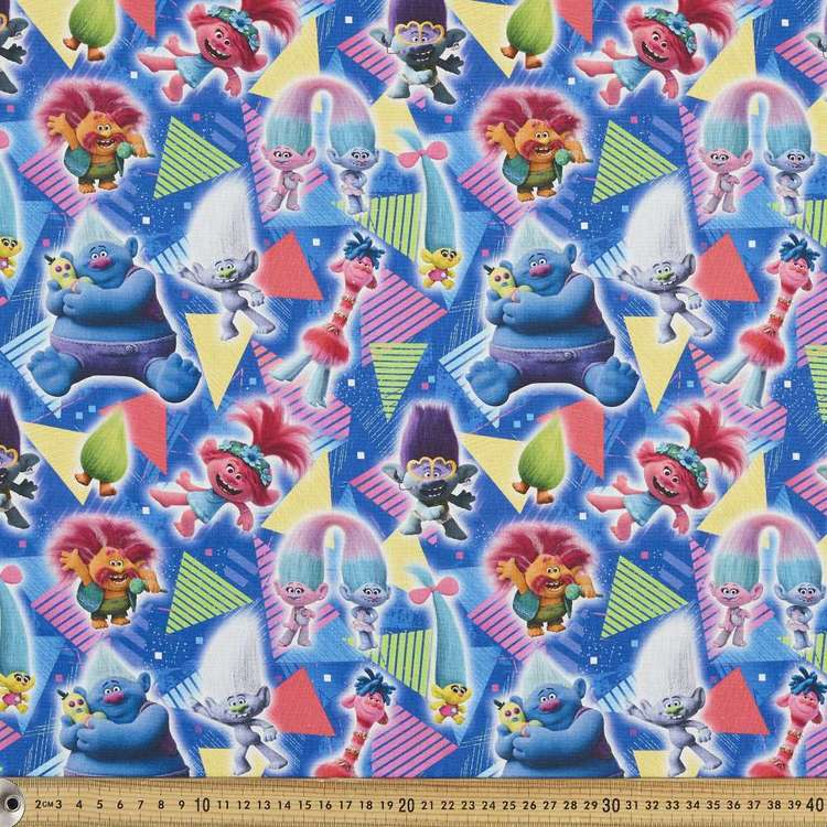 Trolls 2 World Tour Cotton Fabric