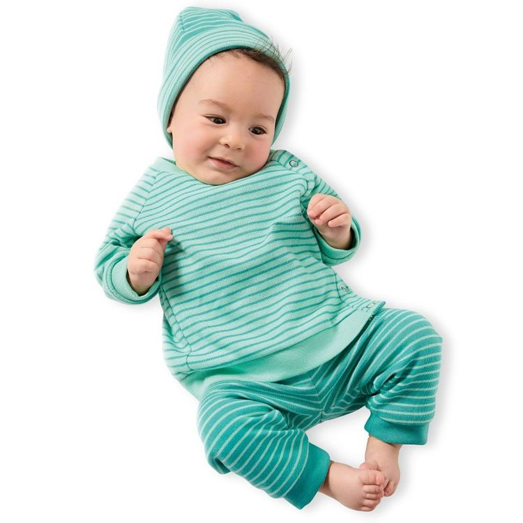 Burda Style Pattern 9315 Babies' Coordinates Wardrobe, Top, Pants, Hat and Bootees 1 - 12 Months