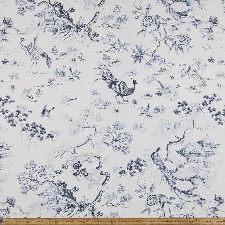Empress Garden Floral Printed Canvas