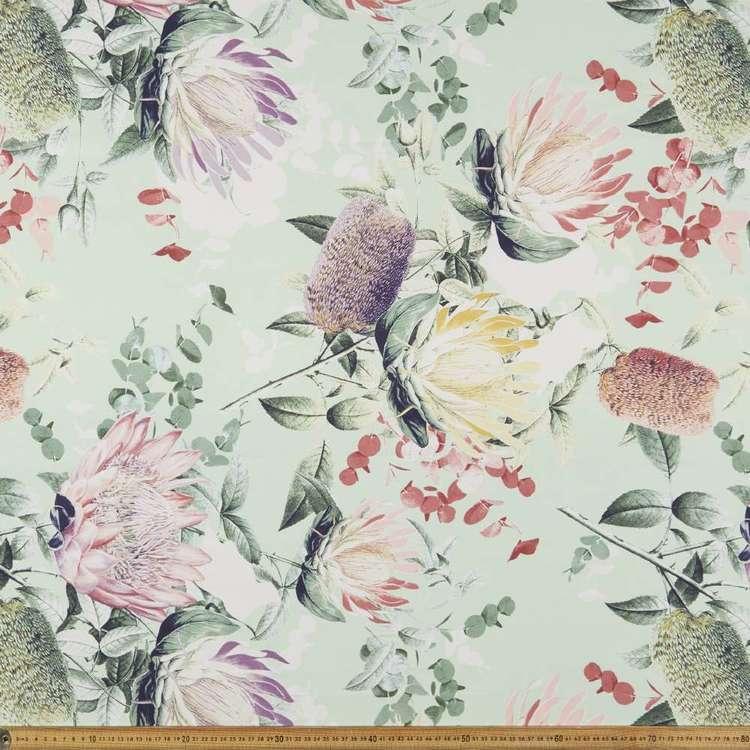 Joyce Floral Printed Canvas