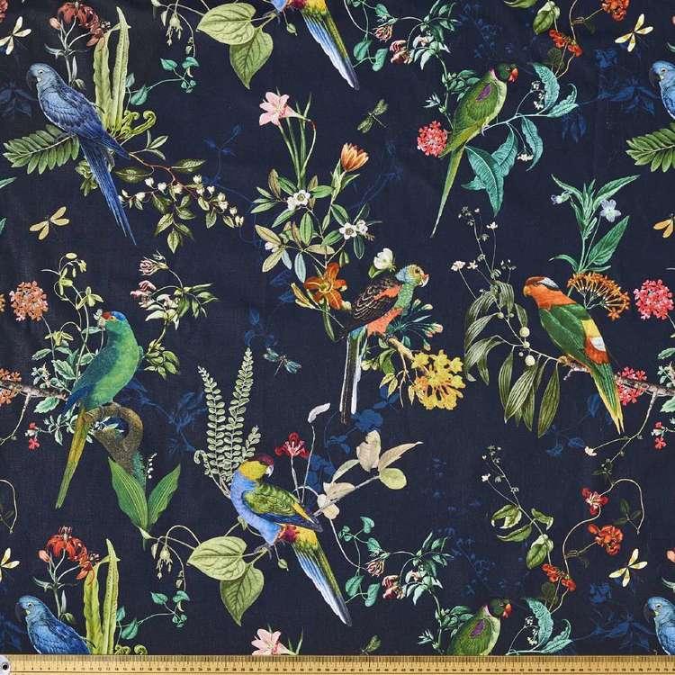 Calypso Floral Printed Canvas