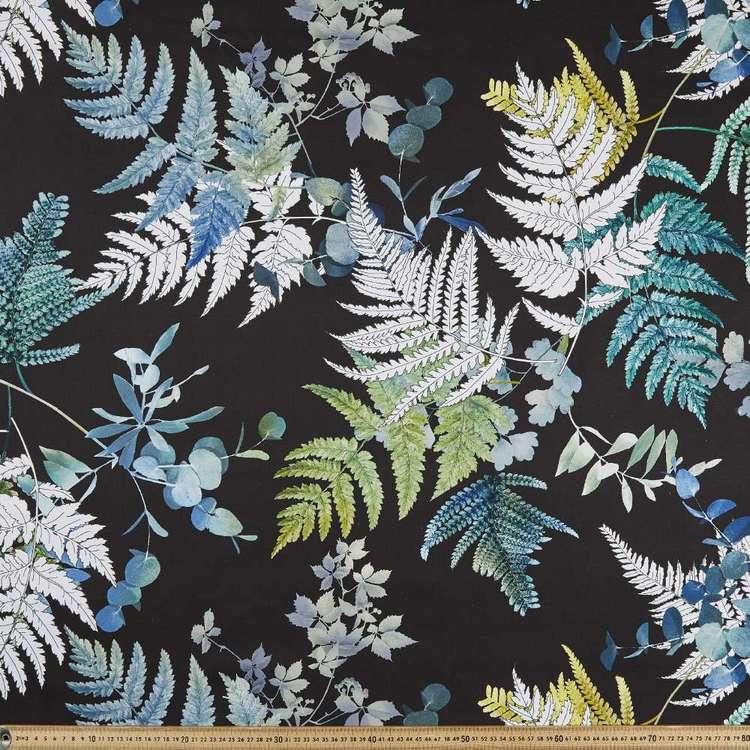 Fern Floral Printed Canvas