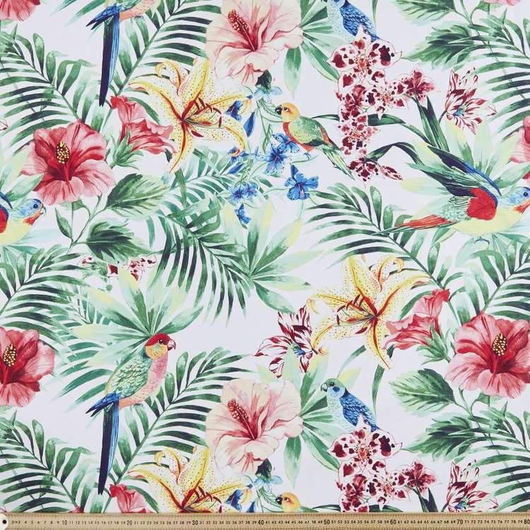 Montego Floral Printed Canvas