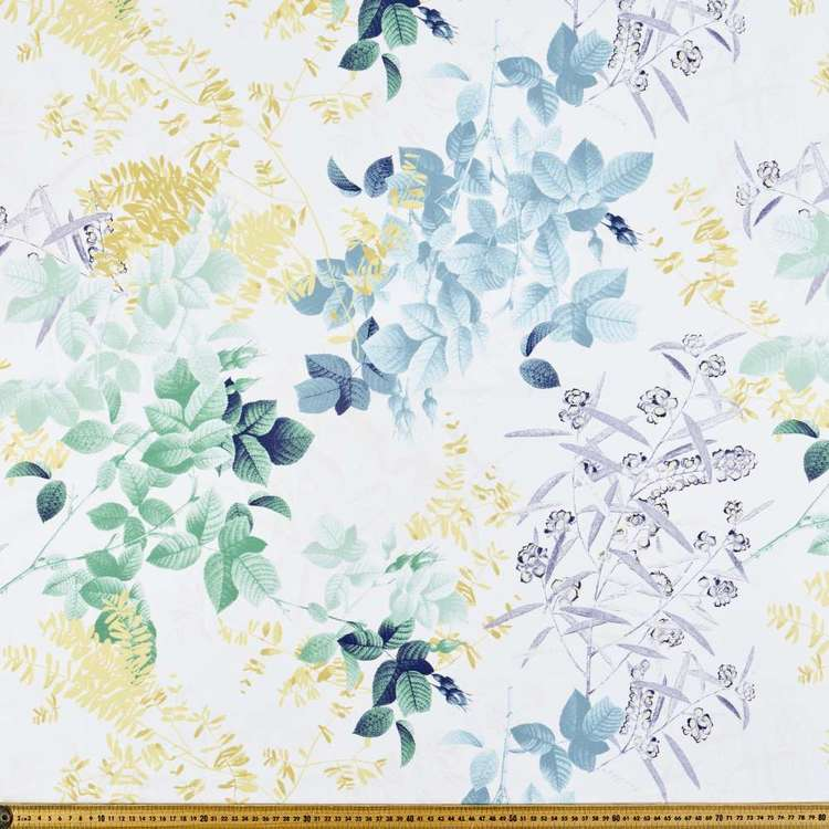 Jardin Floral Printed Canvas