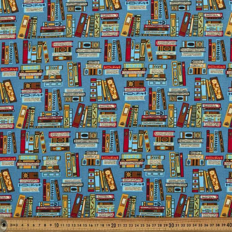 Book Lover Cotton Fabric
