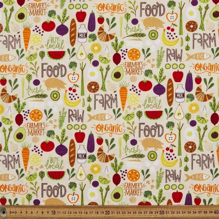 Organic Farm Cotton Fabric