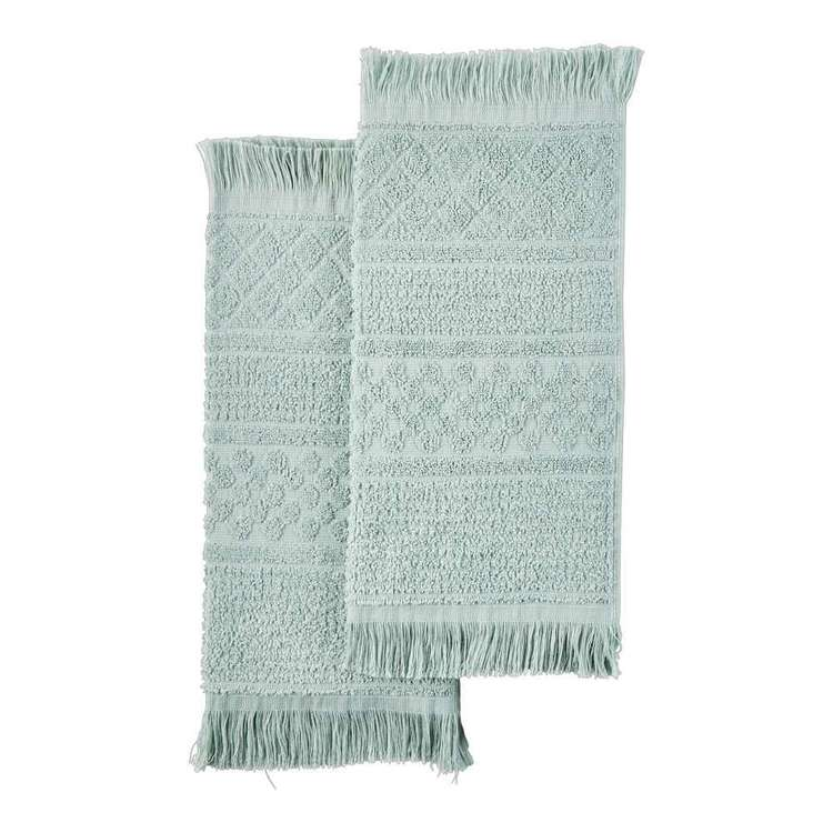 Living Space Mod Geo Towel Collection