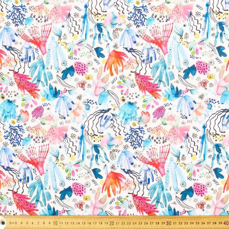 Ninola Coral Reef Cotton Fabric