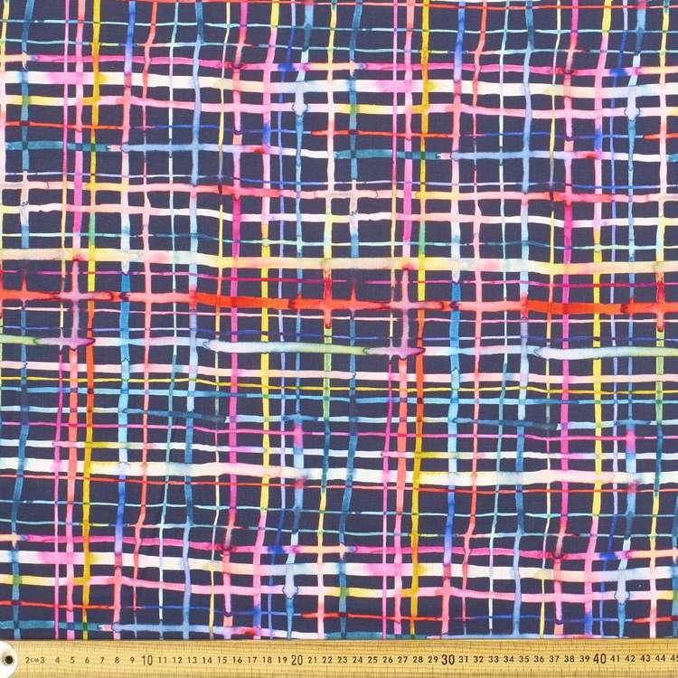 Ninola Grid Cotton Fabric