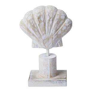 Ombre Home Weathered Coastal Decorative Shell Plaque