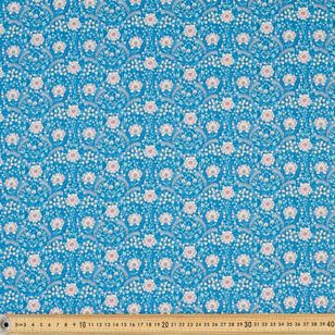 Wall Paper Digital Printed 112 cm Cotton Poplin Fabric