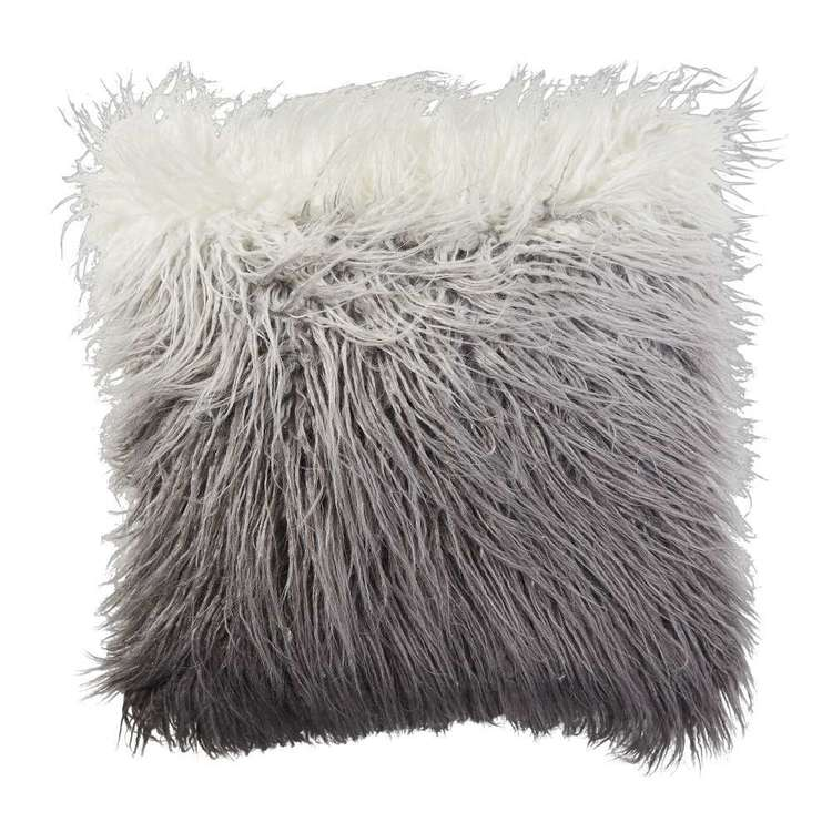 Koo Home Lola Ombre F/Fur Cushion