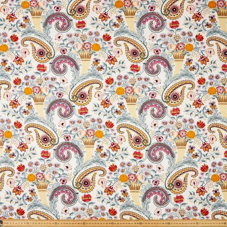 Paisley Dream Printed Rayon Knit Fabric