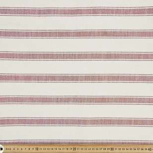 Farmhouse Upholstery Stripe Fabric