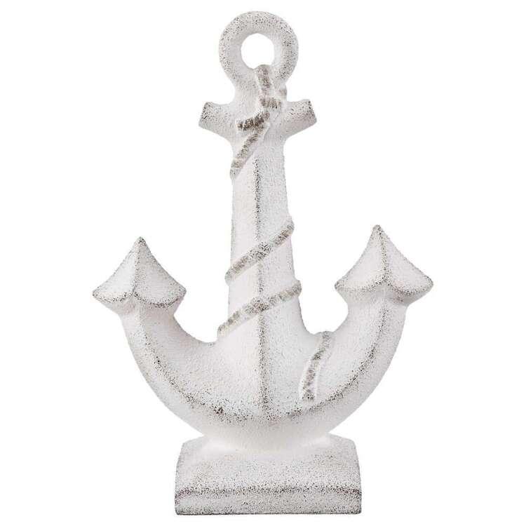 Bouclair Beach Villa Anchor Ornament