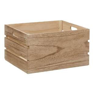 Bouclair Beach Villa Wood Crate