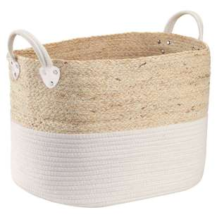 Bouclair Beach Villa Rope Basket