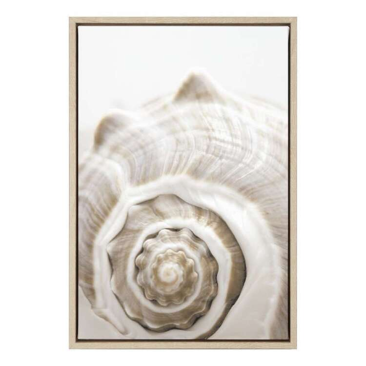 Bouclair Beach Villa Shell Framed Canvas