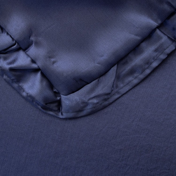 Brampton House Satin V-Shape Ruffled Pillowcase