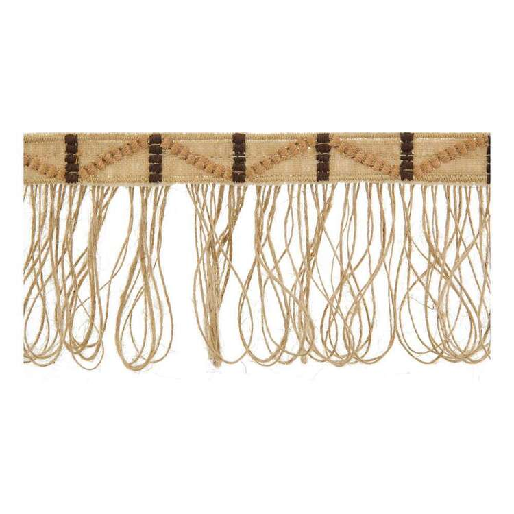 Simplicity Embroidered Western Fringe