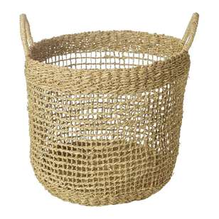 Living Space Bohemian Gypsy Round Basket