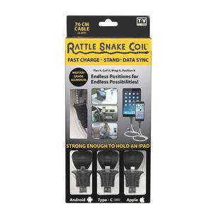 As Seen On TV Rattle Snake Coil