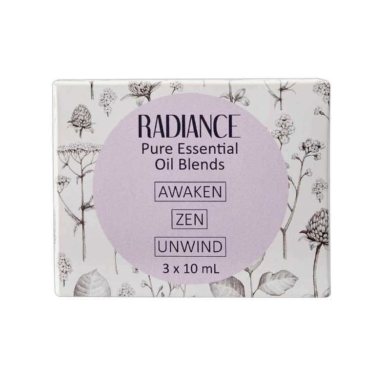 Radiance 100% Pure Oils Mixed 3 Pack
