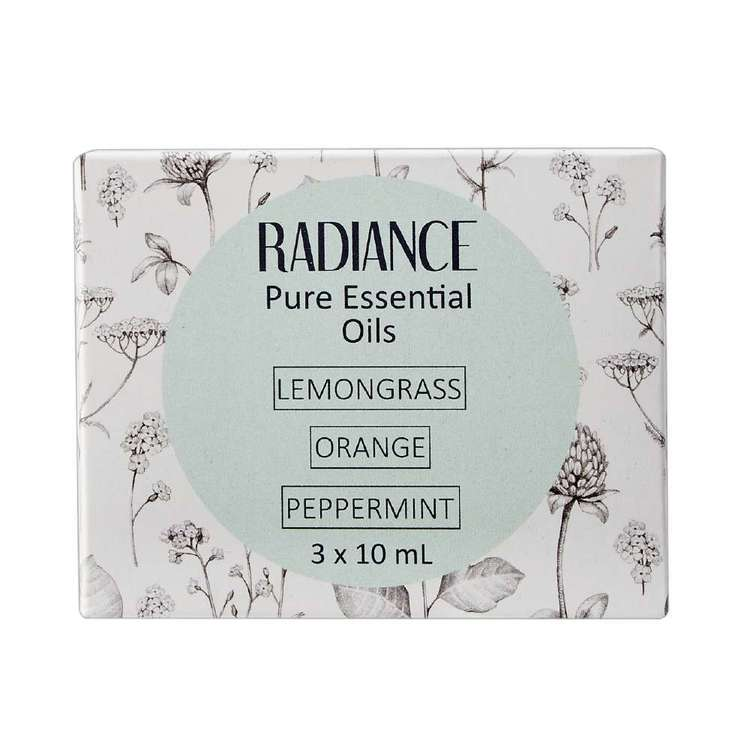 Radiance 100% Pure Oils Solid 3 Pack