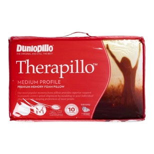 Therapillo Premium Medium Memory Foam Pillow