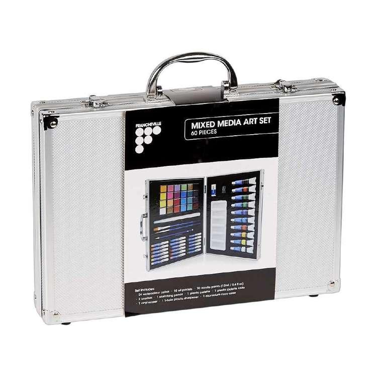 Francheville Aluminium Mix Media Set 60 Pack
