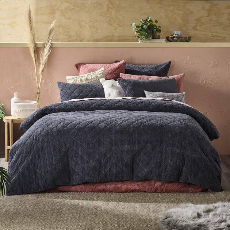 KOO Alissa Teddy Quilt Cover Set