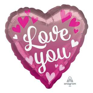 Anagram Valentine's Day Love You Foil Balloon