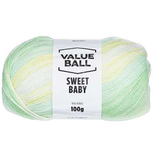 Value Ball Sweet Baby 8 Ply Printed Acrylic Yarn