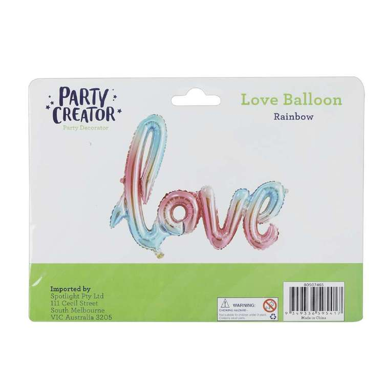 Party Creator Love Letter Balloon