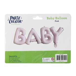 Party Creator Baby Letter Balloon