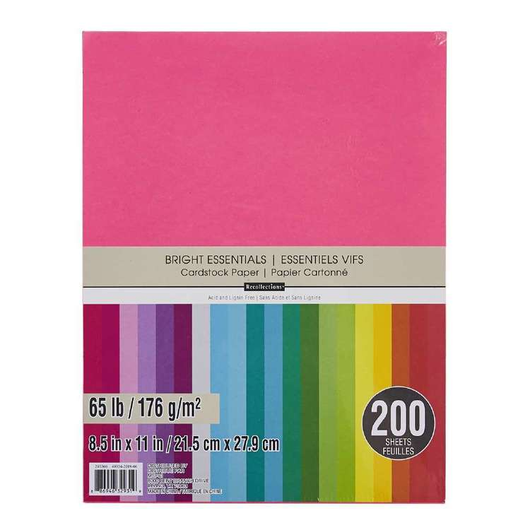 Recollections Cardstock 200 Pack