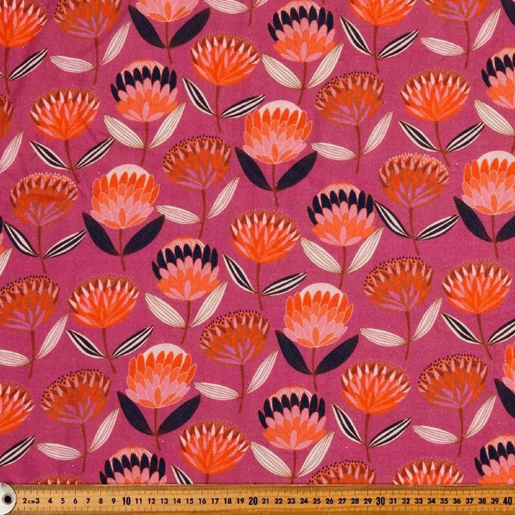 Jocelyn Proust Cotton Protea Fabric
