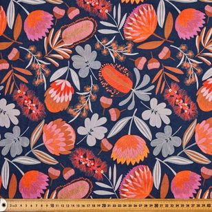 Jocelyn Proust Cotton Native Bouquet Curtain Fabric
