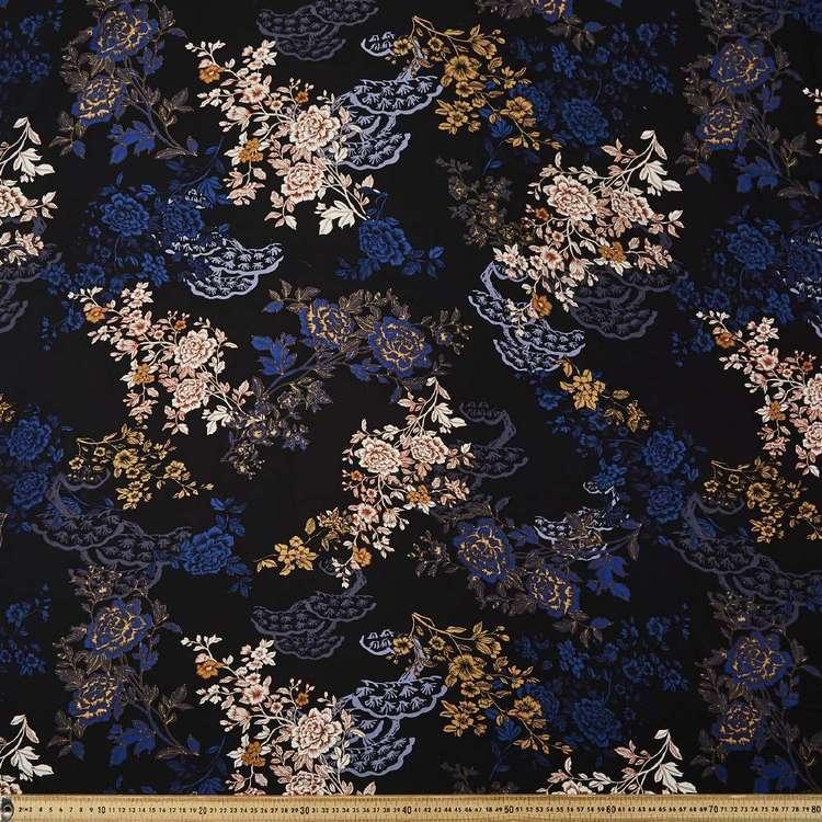 Oriental Printed 135 cm Rayon Fabric