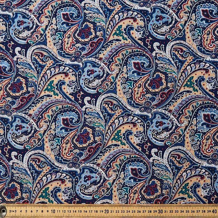 Mosaic Printed 135 cm Dobby Rayon Fabric